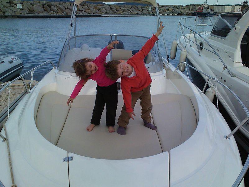 L eclate en bateau avec diane